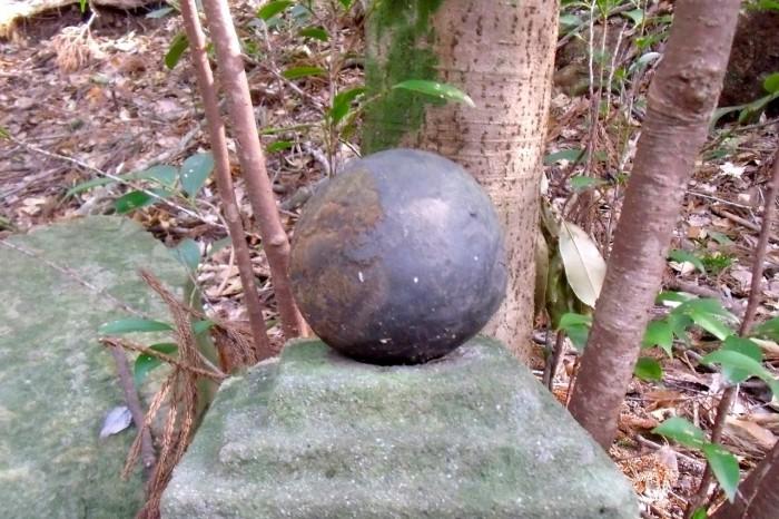 熊瀬川王子跡の玉石