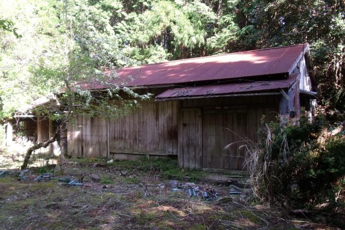 柿原茶屋跡